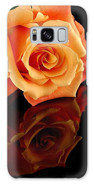 Reflected Rose Galaxy Case