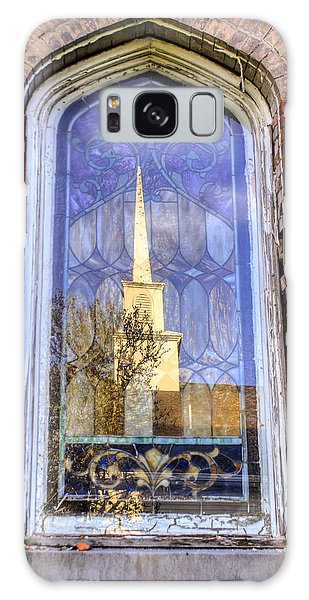 Reflected Steeple Galaxy Case by Rebecca Hiatt