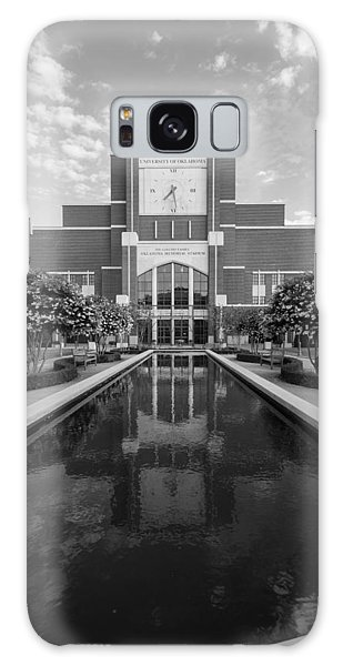 Reflecting Pond Outside Of Oklahoma Memorial Stadium Galaxy Case