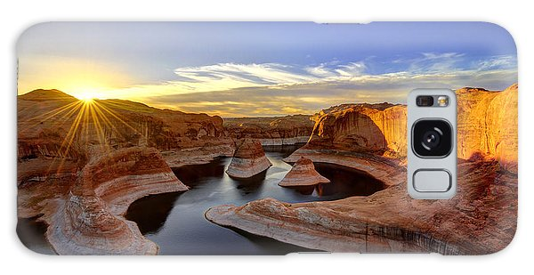 Reflection Canyon Sunrise Galaxy Case