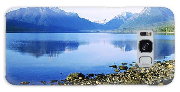 Reflection Of Rocks In A Lake, Mcdonald Galaxy Case