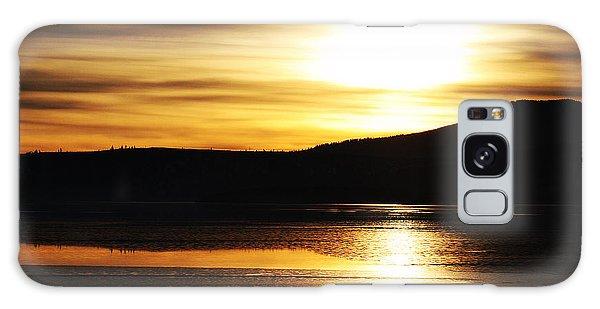 Reflection On Lake Klamath Galaxy Case
