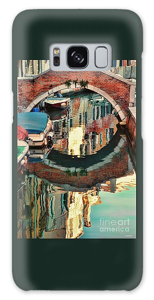 Reflection-venice Italy Galaxy Case by Tom Prendergast