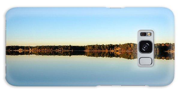 Reflection...lake At Sun Down II Galaxy Case