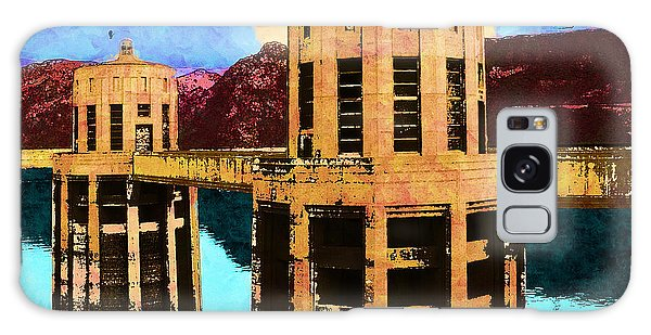 Reflections At Hoover Dam Galaxy Case
