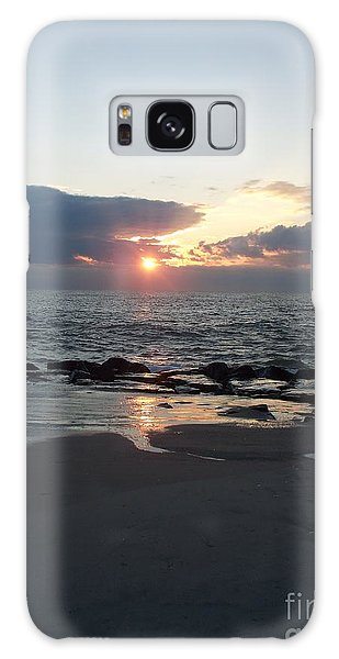 Reflections Cape May Point Galaxy Case by Eric  Schiabor