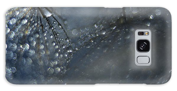 Water Droplets Galaxy Case - Reflections Of A Late Evening by Heidi Westum