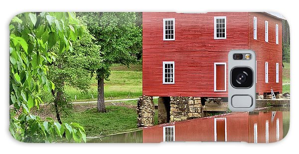 Reflections Of A Retired Grist Mill - Square Galaxy Case
