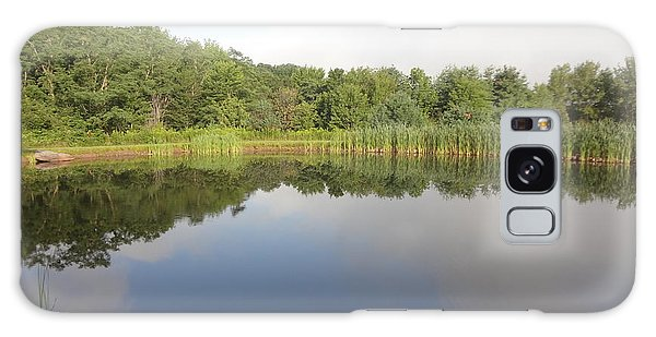 Reflections Of A Still Pond Galaxy Case by Michael Porchik