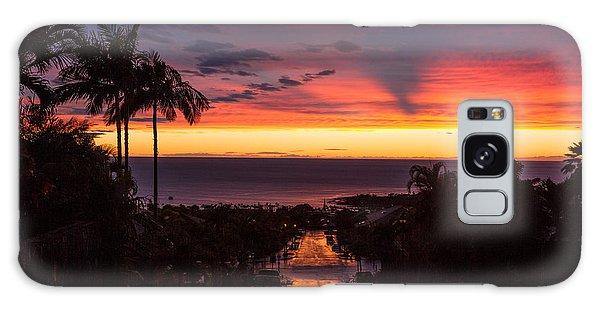 Sunset After Rain Galaxy Case by Denise Bird