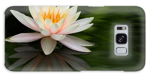 Reflections Of A Water Lily Galaxy Case