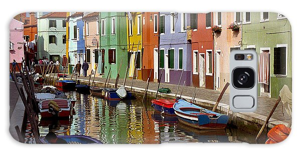 Reflections Of Burano Galaxy Case