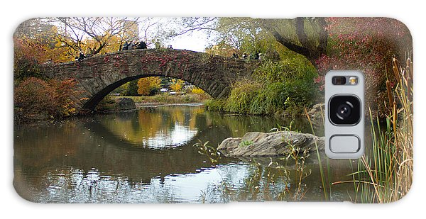 Reflections Of Gapstow Bridge Galaxy Case by Jose Oquendo
