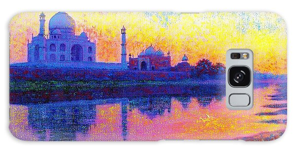 Temple Galaxy Case - Taj Mahal, Reflections Of India by Jane Small