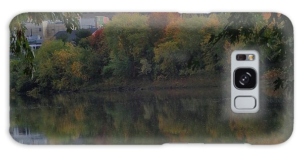 Reflections Of Pittston Galaxy Case by Christina Verdgeline
