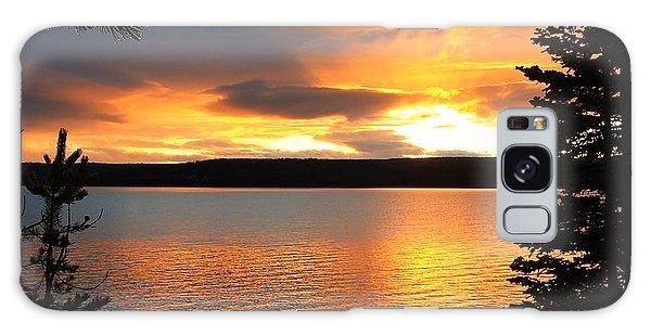 Reflections Of Sunset Galaxy Case by Athena Mckinzie