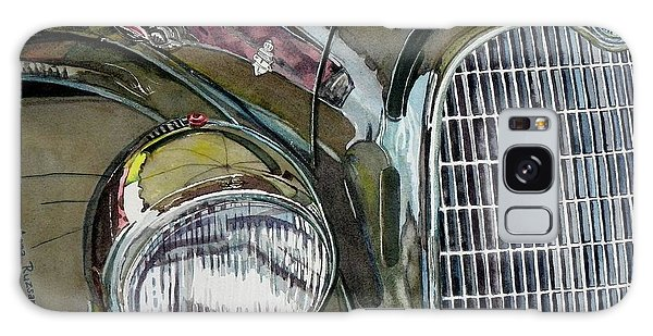 Reflections On 1931 Alfa Romeo Milano Galaxy Case by Anna Ruzsan