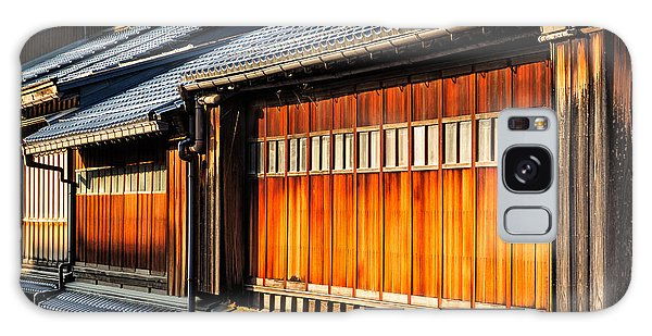 Reflections On Geisha Houses - Kanazawa City - Japan Galaxy Case