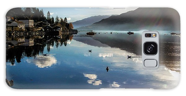 Reflections On Loch Goil Scotland Galaxy Case