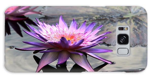 Dark Water Reflections Galaxy Case by Yvonne Wright