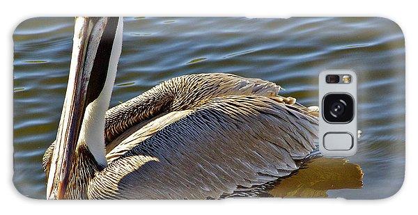 Reflective Pelican Galaxy Case by Alice Mainville