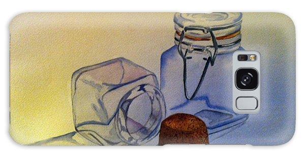 Reflective Still Life Jars Galaxy Case