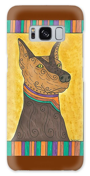 Regal Doberman Galaxy Case by Susie Weber