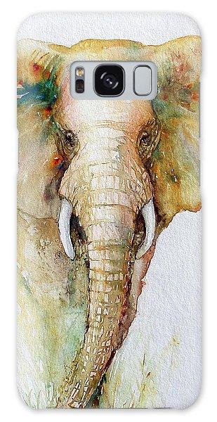 Regal Gold Elephant Galaxy Case