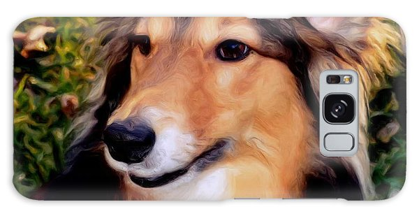 Dog - Collie - Regal Shelter Dog Galaxy Case