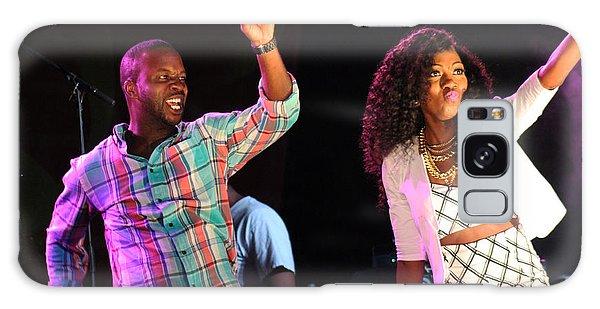 Reggae Dancers Galaxy Case