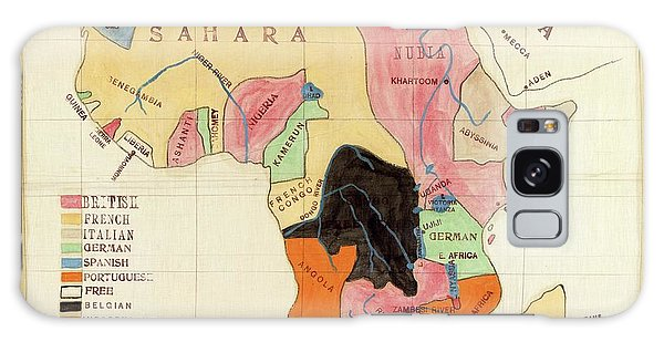 Nigeria Galaxy Case - Regions Of Africa by Library Of Congress, Geography And Map Division