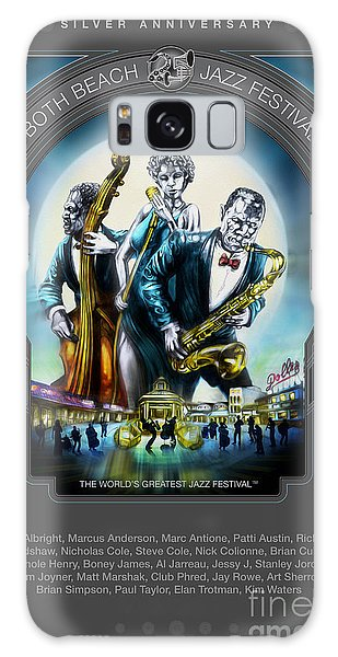 Rehoboth Beach Jazz Fest 2014 Galaxy Case