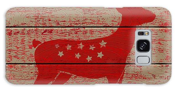 Board Galaxy Case - Reindeer On Old Wooden Background by Serazetdinov