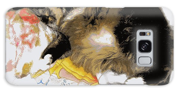 Relax Cat Galaxy Case by Heidi Manly