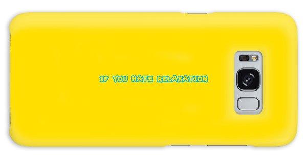 Patina Galaxy Case - Relaxation Slogan by Andreas Patinas
