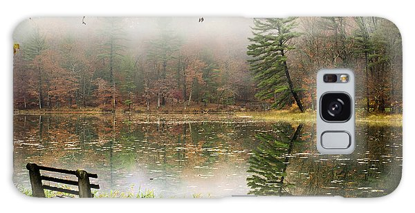 Galaxy Case featuring the photograph Relaxing Autumn Beauty Landscape by Christina Rollo