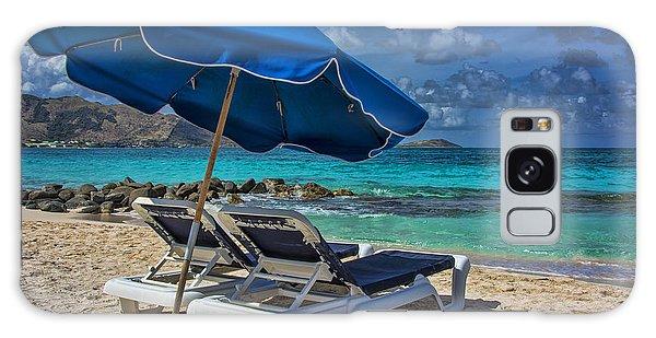 Relaxing In St Maarten Galaxy Case