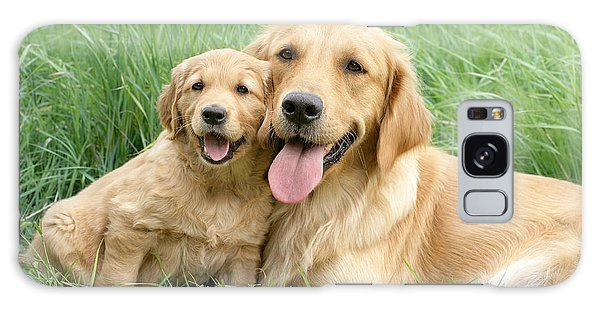 Horizontal Galaxy Case - Relaxing Retrievers by MGL Meiklejohn Graphics Licensing