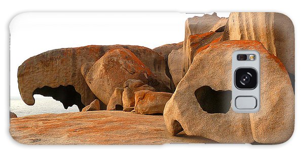 Remarkable Rocks Galaxy Case by Evelyn Tambour