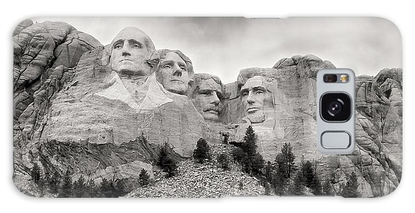 Remarkable Rushmore Galaxy Case by Erika Weber