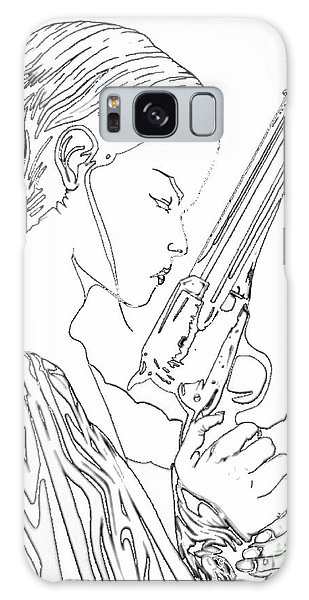 Remembering The Face Of Our Father Iced Edtion Galaxy Case by Justin Moore