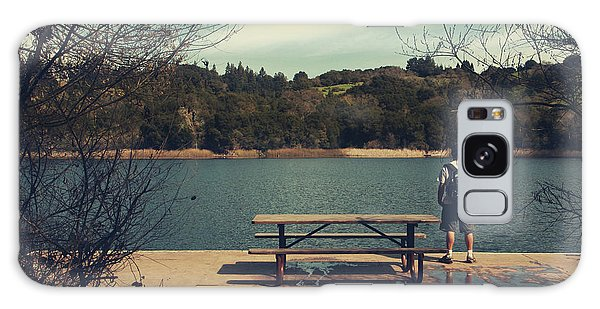 Picnic Table Galaxy Case - Remembering When by Laurie Search