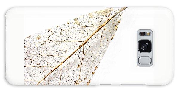 Remnant Leaf Galaxy Case by Ann Horn