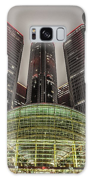 Renaissance Center Detroit Michigan Galaxy Case