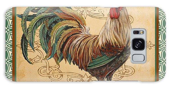 Renaissance Rooster-d-green Galaxy Case