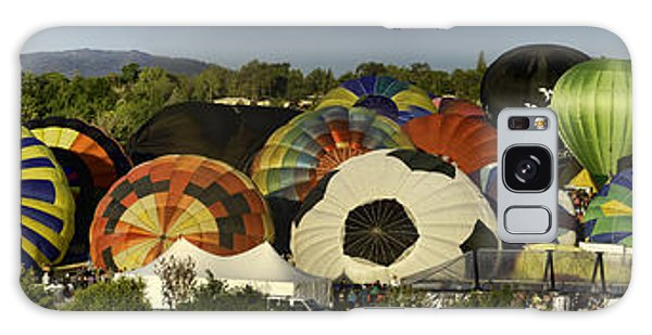 Reno Balloon Race Panorama Galaxy Case