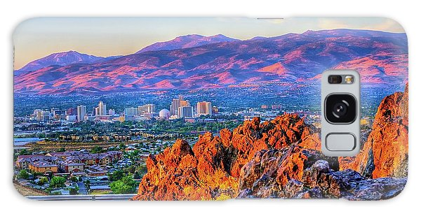 Reno Nevada Sunrise Galaxy Case