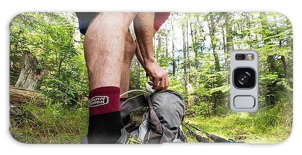 White Mountain National Forest Galaxy Case - Repacking On The Trail by Joe Klementovich