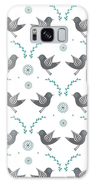 Lovebird Galaxy S8 Case - Repeat Lovebird by Susan Claire