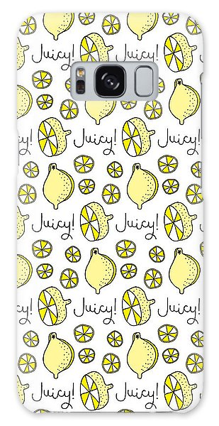 Yellow Galaxy Case - Repeat Prtin - Juicy Lemon by MGL Meiklejohn Graphics Licensing